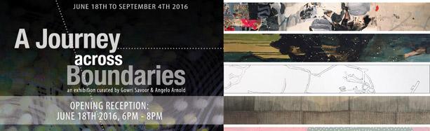 A Journey Across Boundaries, Chandler Gallery VT