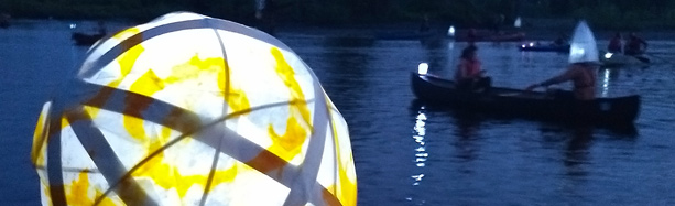 Confluence Project Lantern Paddle